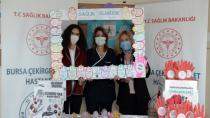 Kursiyerlerden Sağlık Personeline Organik Sabun