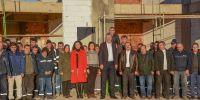 Başkan Özkan'dan özverili personele teşekkür ziyareti
